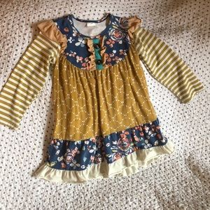 Other - Long sleeve dress with matching ruffle pants.